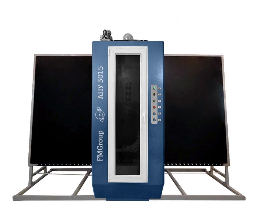 Пескоструйная установка для стекла АПУ-3015 Standart
