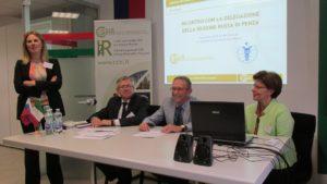 Пензенская областная ТПП в рамках бизнес-миссии посетила Милан